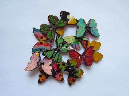 Пуговки-бабочки