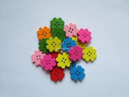 Пуговки-цветочки