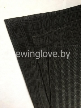 Подошва для изготовления обуви черная