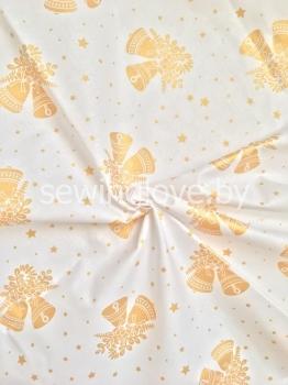 Ткань золотые колокольчики