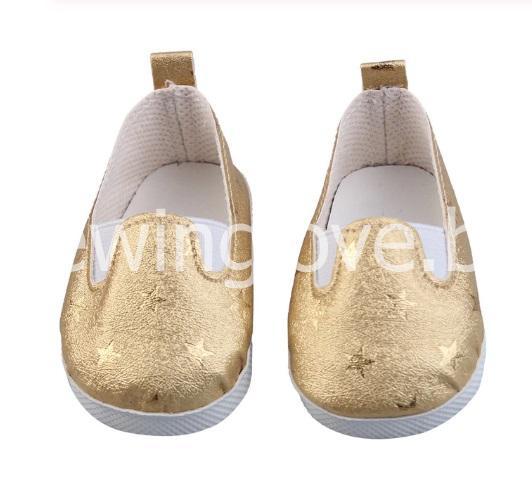 Туфли звездочка золотые 6 см