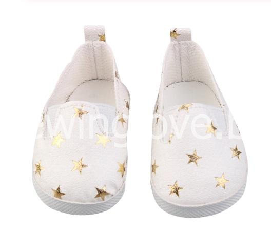 Туфли звездочка белые 6 см