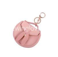 Сумочка для куклы розовая