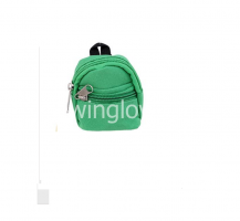 Рюкзак для куклы зеленый