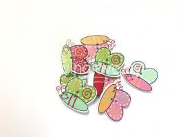 Бабочки мультяшки