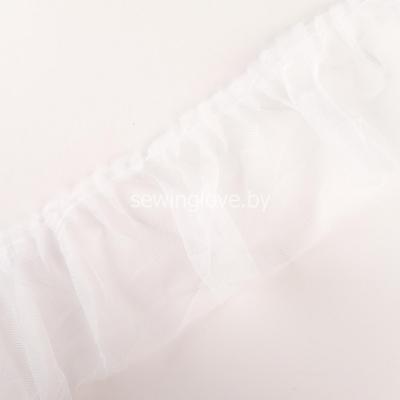 Рюши из  фатина 10см - белый