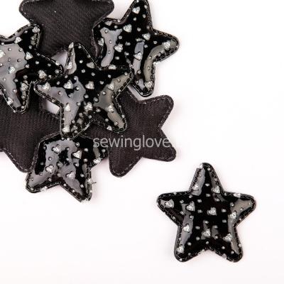 Патч звездочка черная 5см
