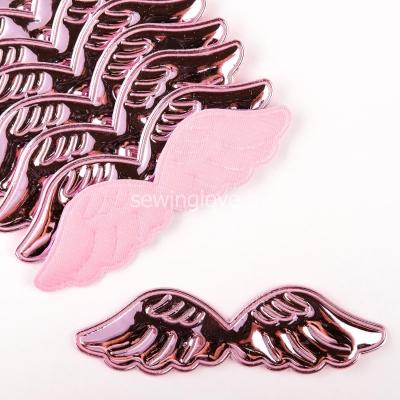 Патч крылышки розовые глянец 10,5 см