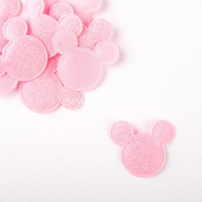 Патч Микки Маус нежно розовый
