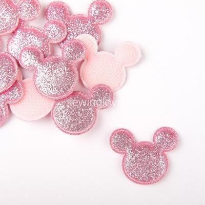 Патч Микки Маус  розовый
