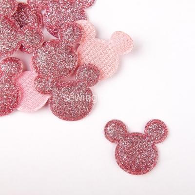 Патч Микки Маус насыщенно розовый