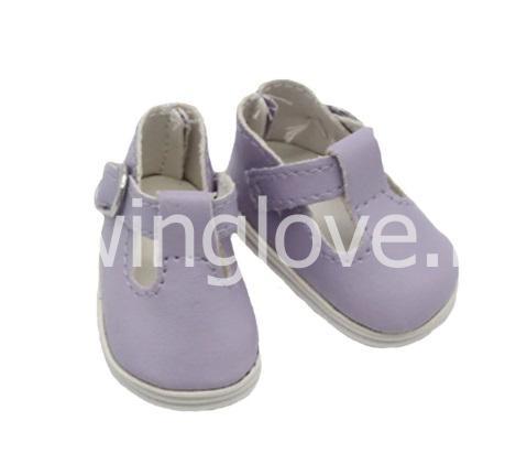 Сандалики фиолетовые 5см