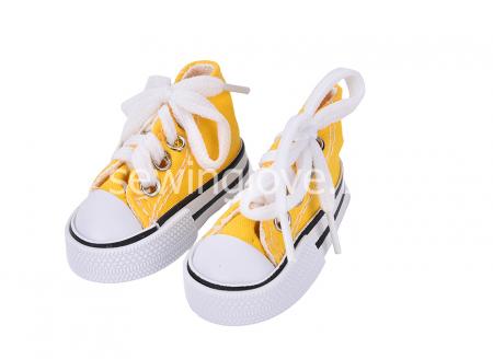 Кеды желтые