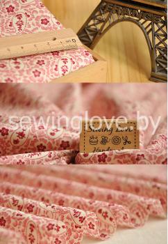 Розово-бордовая Прометея с узорами