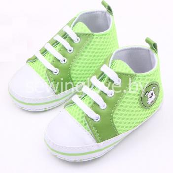 Кроссовки зелёные
