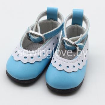 Туфельки голубые