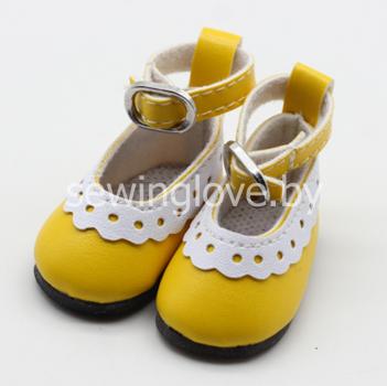 Туфельки желтые