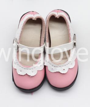 Туфли с каблуком розовые